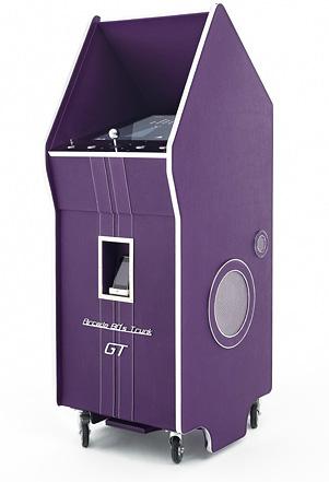 borne-arcade-pinel-pinel-80-s-trunk-mauve
