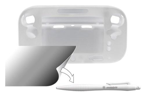 Nintendo-Wii-U-snakebyte-guard-pack-white-bulk