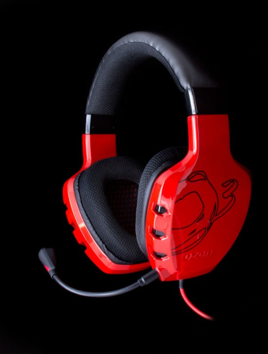 Casque Gamer Ozone Rage ST Rouge