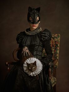 sacha goldberger super heros flamands Catwoman