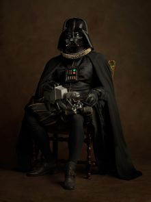 sacha goldberger super heros flamands Darkvador