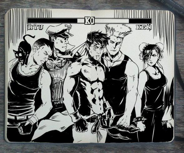 Street Fighter - 365 Days of Doodles
