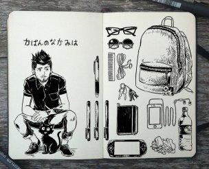 Gamer's bag - 365 Days of Doodles