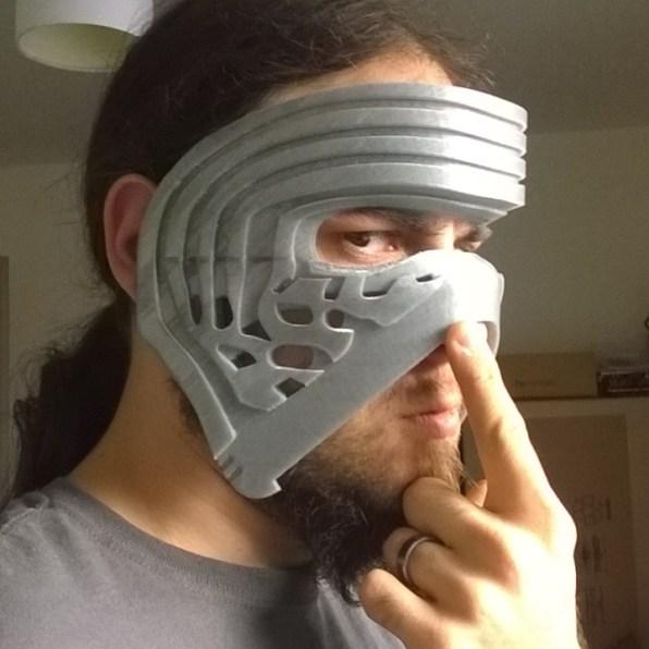 masque Kylo Ren en impression 3d