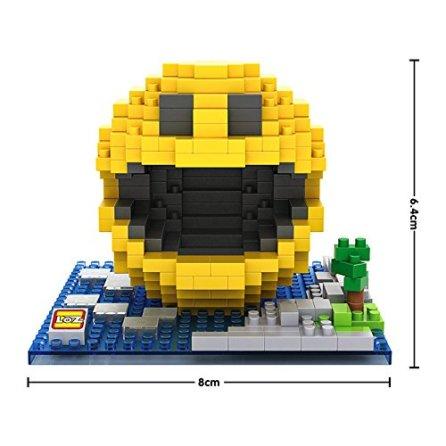 briques LOZ iBlock Fun - Pacman pixels