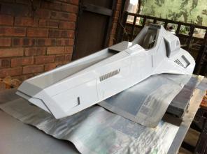 maquette vaisseau Feisar - Wipeout HD