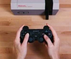 8Bitdo & Analogue - Retro Receiver Nintendo NES - Buetooth - PS3
