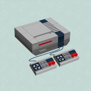 Notice lego console Nintendo NES