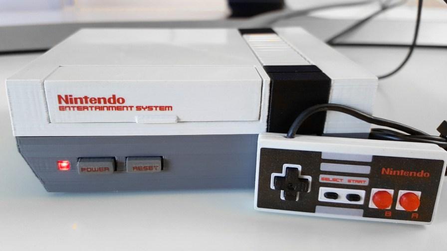 console Nintendo NESPI - Raspberry pi Daftmike