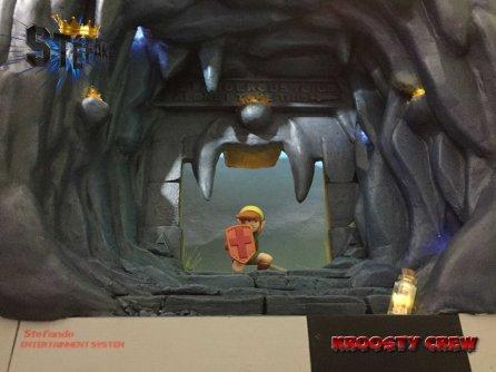 diorama Zelda Link