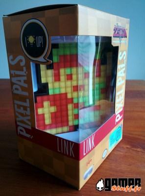 Test figurine PDP Pixel Pals Link - Nintendo - Zelda