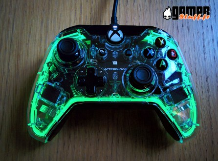 Test manette Xbox One - PDP Afterglow Primastic Wired Controller