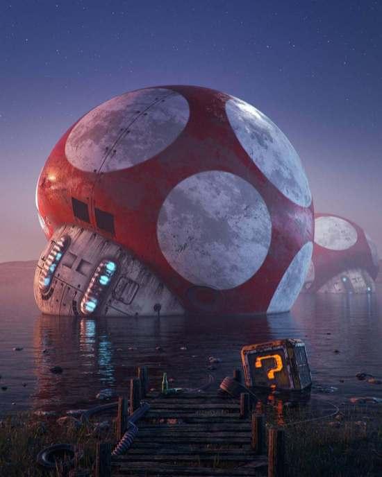 Hoodass - illustrateur 3D néo rétro - gaming