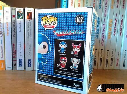 Test figurine Funko POP MegaMan - boite