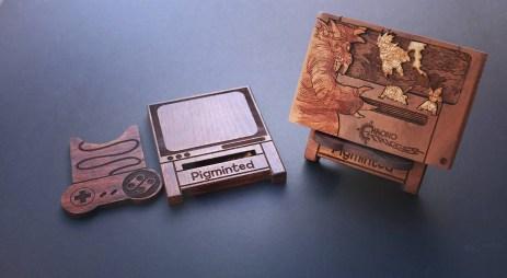 Coque Raspberry PI - Cartouches bois Nintendo