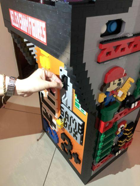 Borne arcade Donkey Kong en LEGO - pièce