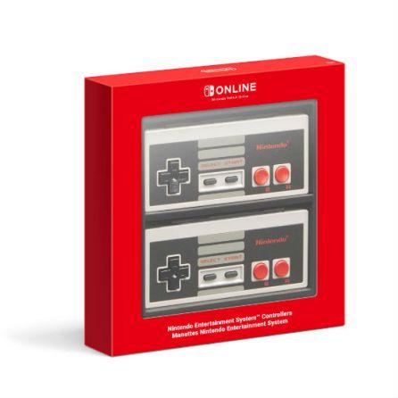 manettes NES Switch packshot