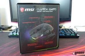Souris MSI Clutch GM70