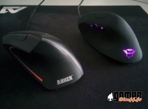 Test souris verticale Trust GXT 144 Rexx VS Anker