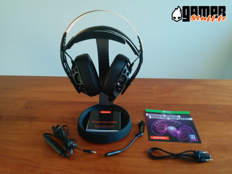 casque gaming Plantronics Rig 500 Pro
