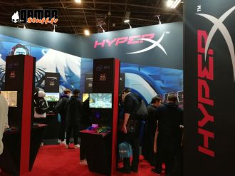 Salon Paris Games Week 2019 - #PGW2019 - HyperX