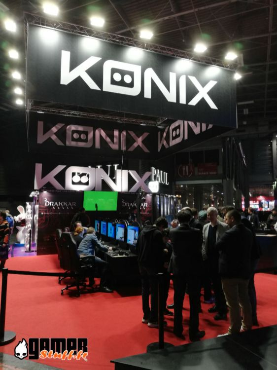Salon Paris Games Week 2019 - #PGW2019 - Konix