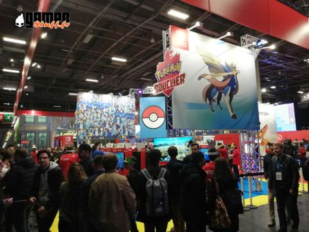 Salon Paris Games Week 2019 - #PGW2019 - Pokemon Switch