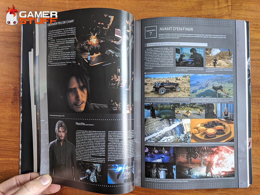 livre Mana Books Final Fantasy XV Official Works