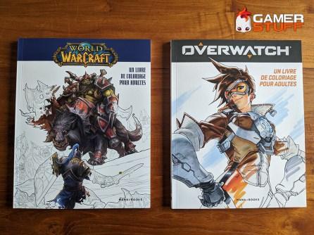 Mana Books - Livre de coloriage pour adultes World of Warcraft & Overwatch