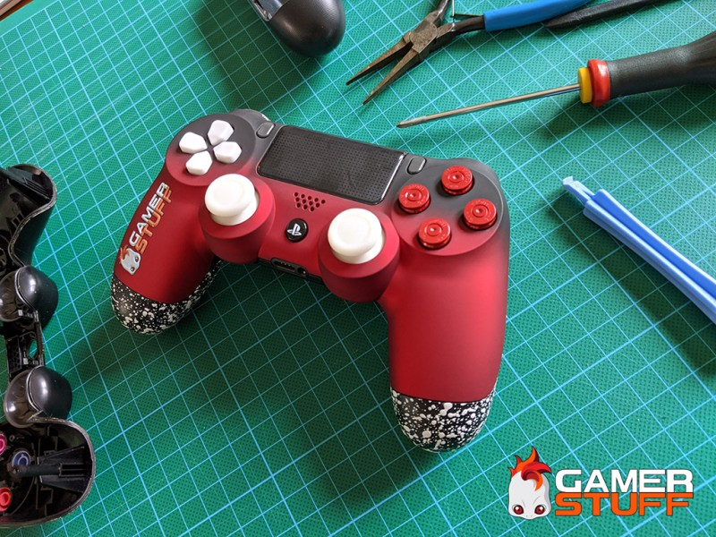 tuto personnalisation manette PS4 - coques & boutons
