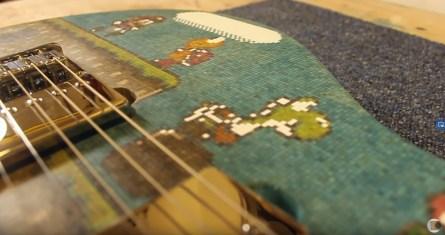guitare électrique Super Mario World - 10000 bâtons sucette