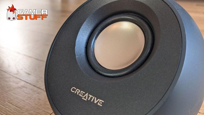 Enceintes USB-C Bluetooth Creative Pebble v3