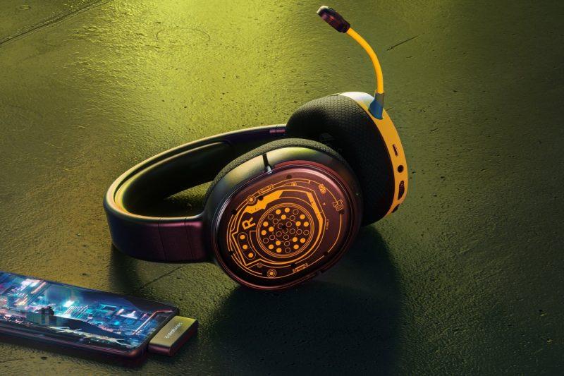 casque Steelseries Arctis 1 Wireless Cyberpunk Edition Netrunner Edition