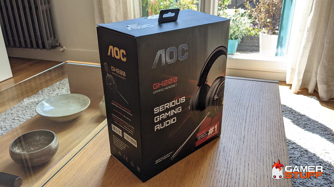 test casque gamer AOC GH200