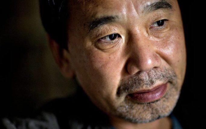 """Den japanske forfatter Haruki Murakami i Danmark i anledning af begivenheden """"Verdenslitteratur på Møn""""."""