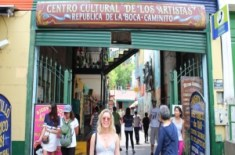 Cultural Centre in La Boca, Argentina gap year