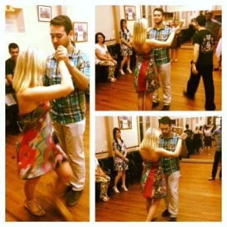 Argentinian tango lessons!