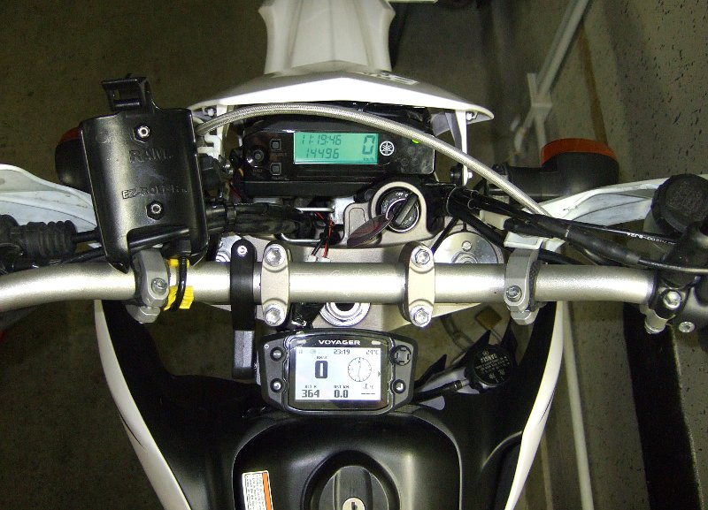 Trail-Tech Voyager GPS an Yamaha WR250R (II)