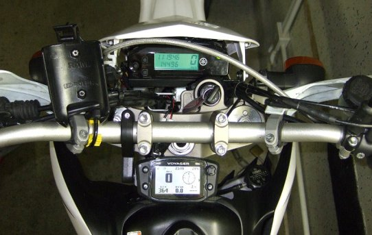 Trail-Tech Voyager GPS Computer an Yamaha WR250R
