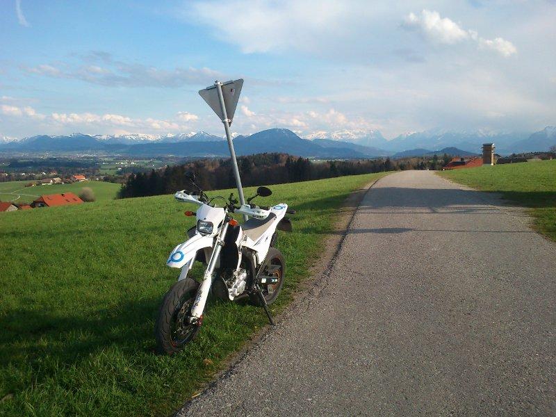 Yamaha WR250R im Alltagsbetrieb