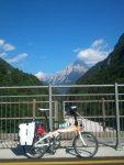 Alpe-Adria Runde per Klapprad