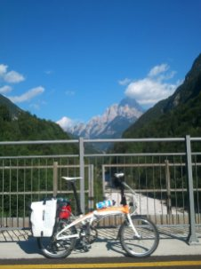Tag 1: Pontebba Radweg