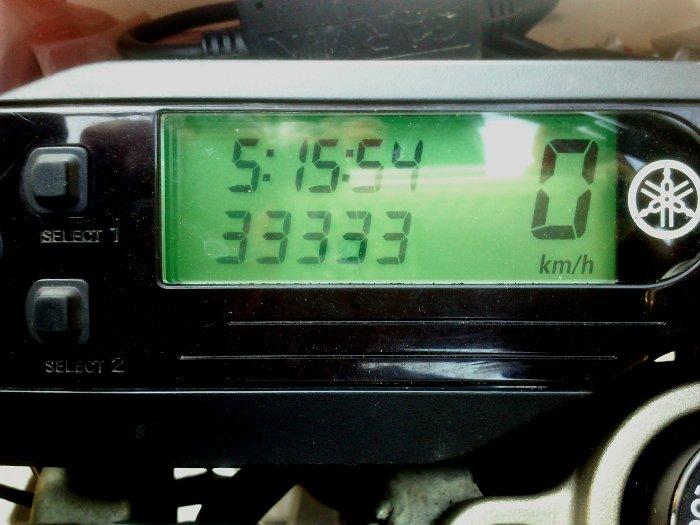 Yamaha WR250R mit 33.333km