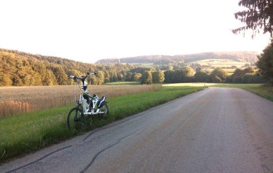 Schmal bereifter Streetstepper RS20 am Ranzenberg