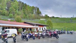 Fahrsicherheitstraining 14.5.2017 Teilnehmermotorräder