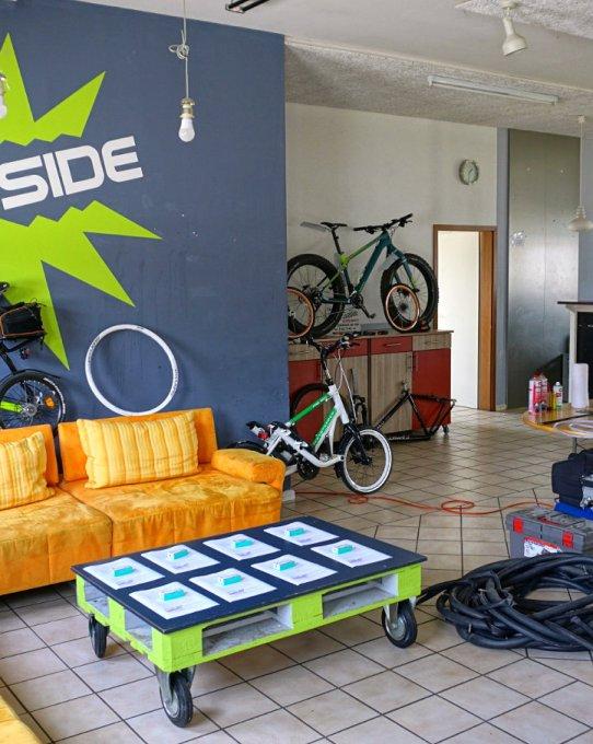 """Crashkurs """"Kleine Fahrradreparaturen"""" im Jugendzentrum Inn-Side"""
