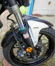 Yamaha MT-07 mit Hyperpro Streetbox: Gabel