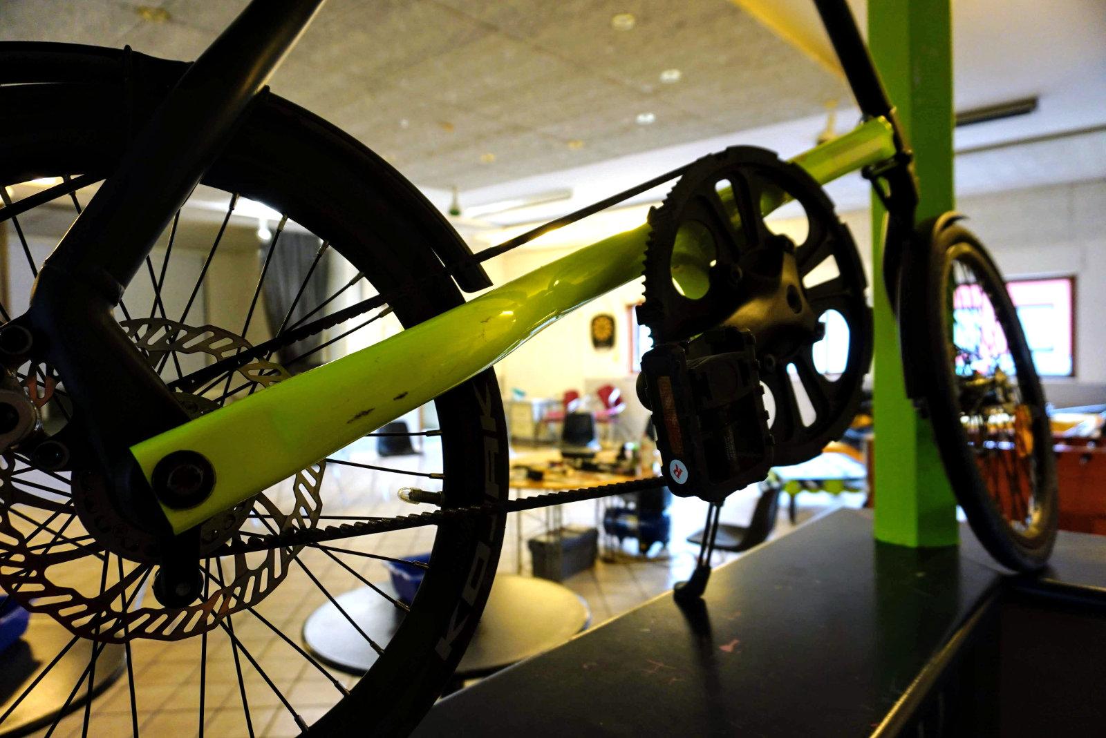 Crashkurs Fahrradschrauben im Innside, Simbach