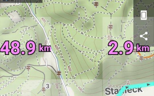 Datarecording am Fahrrad – Locus Map Pro