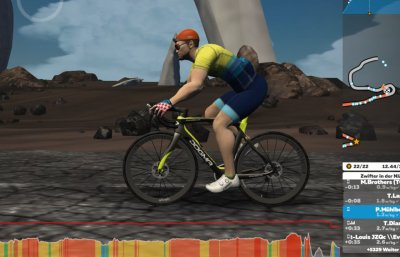 Zwift Screenshot - Pinarello Dogma F12
